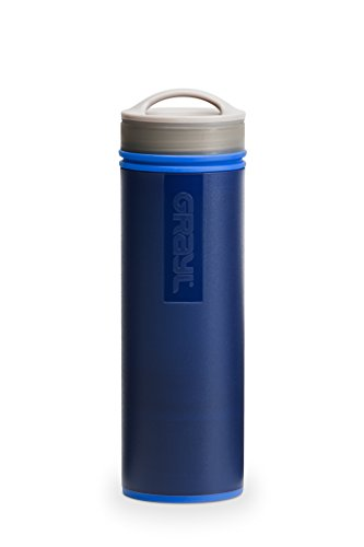 GRAYL Ultralight Water Purifier [+ FILTER] BOTTLE (Blue)