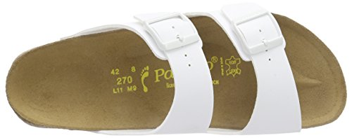 Papillio Arizona Womens Sandals by Birkenstock White Patent KBy3Xy