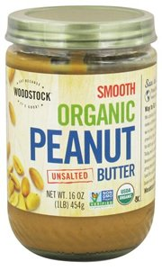 Woodstock International Farms Organic Smooth Peanut Butte...