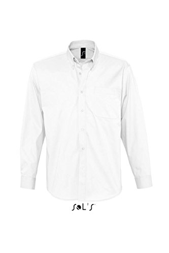 SOL´S - Twillhemd Bel-Air XXL,White