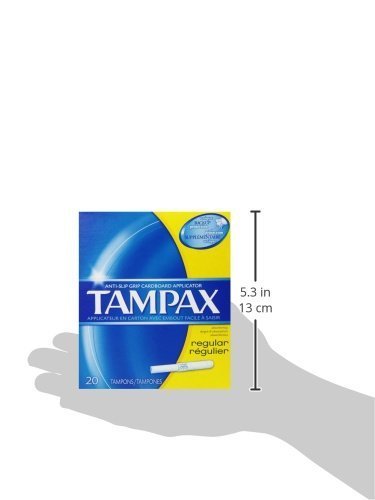 Tampax Regular Flushable 20 ct by Tampax (Image #8)