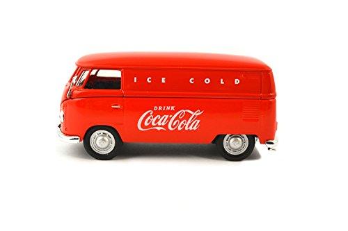 Motor City Classics 1:43 1962 Red Volkswagen Cargo Van