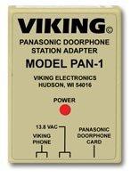 (Viking Electronics PAN-1 Panasonic Door Phone Station Adapter)