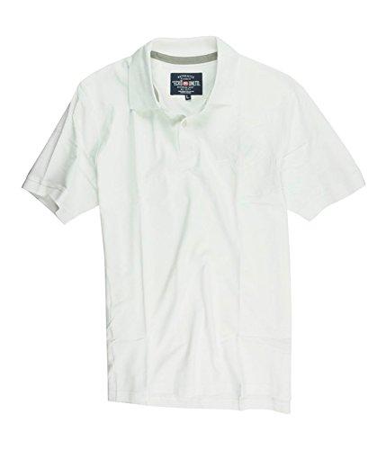 Ecko Unltd. Mens Armhole Embroidered Rhino Rugby Polo Shirt blchwhite M