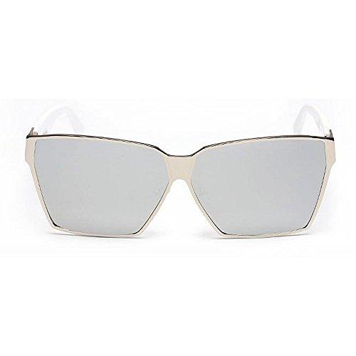 conducción UV Para unisex Gafas Elegante de adulto la para de gran de Viajando Lentes aire Estilo verano playa la sol sol Unisex Retro coloreadas la libre al Gol de protección C1 Viajar tamaño de pesca qC5ZUx