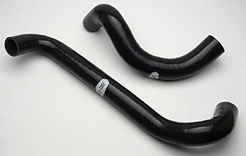 Pontiac GTO LS2 Cold Case Silicone BLACK Radiator Hose Kit 4 Ply