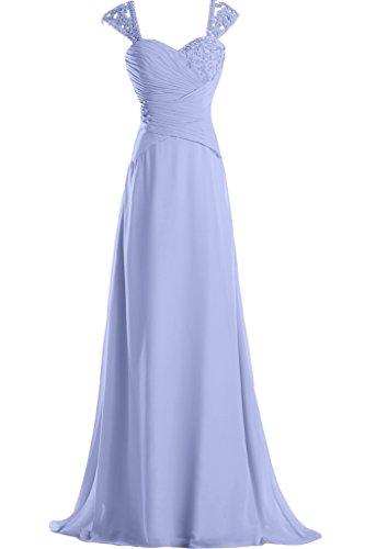 Missdressy - Vestido - trapecio - para mujer azul celeste 34