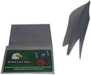 product image for Vinyl Wallet Insert 6 Page Trifold for credit cards and pictures Set of 3 insert.