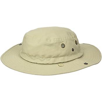 4eeb9eaa20ad7 Amazon.com  White Sierra Men s Bug Free Brim Hat