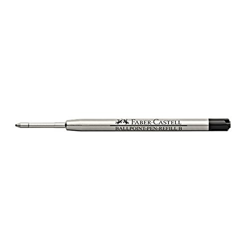 Broad Point Ballpoint Pen Refill (Faber-Castell Ballpoint Refill for Broad Nib, Black (FC148742))