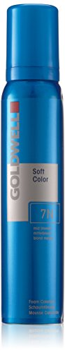 Color Goldwell Colorance Mousse - Goldwell Colorance Soft Color Foam, 7n Mid Blonde, 4.2 Ounce