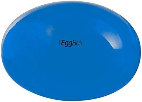 Pezziball - Pelota ovalada para ejercicios de gimnasio azul blau ...