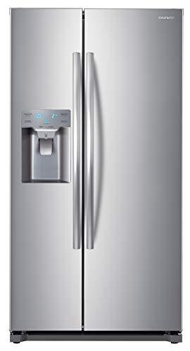 Daewoo FRS-Y22D2T RFS-Y22D2T 20 Cu. Ft. Side Mounted Silver Refrigerator