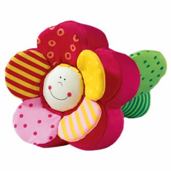 (HABA Fidelia Flower Clutching Figure with Detachable Crinkly Petals)