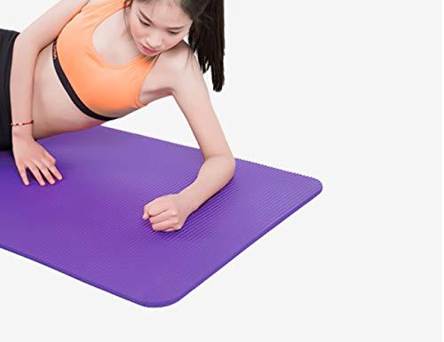 ZHANGQIAN Yoga Mat Extra Gruesa con Correas De Transporte ...