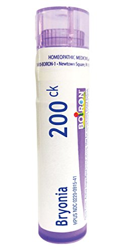 (Boiron Bryonia Alba 200CK, 80 Pellets, Homeopathic Medicine for Muscle and Joint)