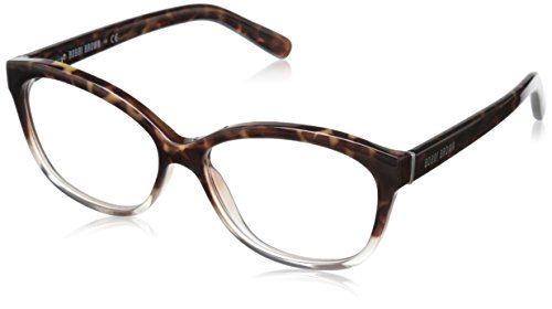 Bobbi Brown Women's The Mulberry Square Readers, Havana Crystal 1.0, 54 - Amazon Square Glasses