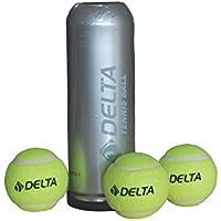 Delta Unisex Yeşil 3'lü Vakumlu Tüpte Tenis Topu DTB-6446