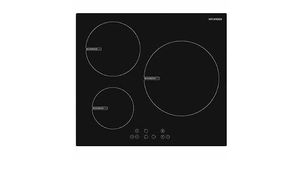 Placa Inducción Hyundai Hypi3060tb2 59cm sin marco: Amazon ...