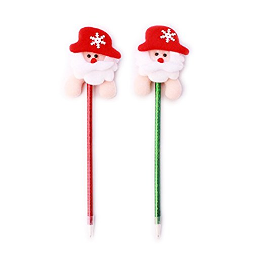 Pendant & Drop Ornaments - Year 1pcs Christmas Santa Claus Blue Ink Ball Pen Ballpoint Children Shcool Prize Gift Wholesale - Santa Claus Tumbler Costume