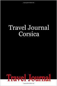 Travel Journal Corsica