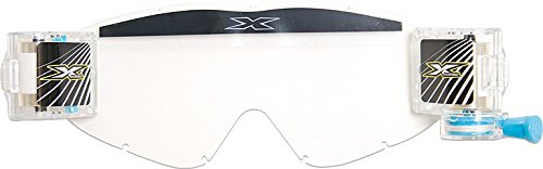 EKS BRAND Unisex-Adult Full GOX Zip Off System Lens (Clear, One Size)