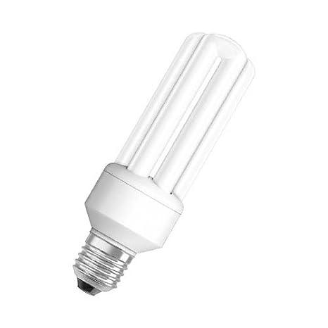 Osram DULUX Star Bombilla de bajo consumo de forma lineal E27, 20 W: Amazon.es: Iluminación