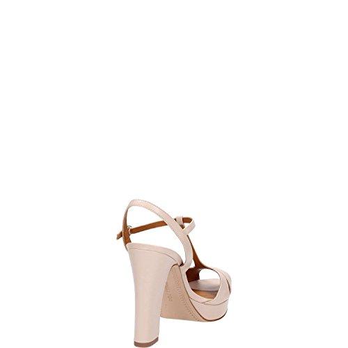 regolabile cinturino alla caviglia in Donna FOR sandalo alto Nude WHAT pelle Calzature aBqgw