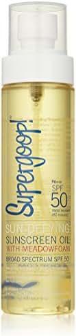 Supergoop! Sun-defying Sunscreen Oil With Meadowfoam Spf 50, 5 Fl Oz