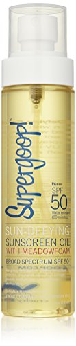 - Supergoop! Sun-defying Sunscreen Oil With Meadowfoam Spf 50 - 5 Fluid Ounce, 0.43 Pound