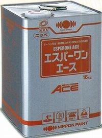 ニッペ エスパーワンエース 各色 (1液 油性 弱溶剤 錆止め 下塗剤)黒さび色 16Kg缶 B01DZPI5BM 16Kg/缶|黒さび色
