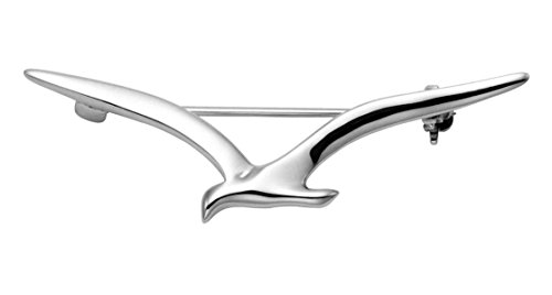 Sterling Silver Soaring Seagull Pin