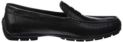 W 2fit U Hombre Mocasines Black D Moner Geox para C0539 Negro Black qFBEwT6