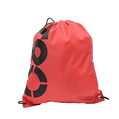 Unique Sackpack for Outdoor Sports Lightweight Bag for Basketball Running Hiking T90 Red