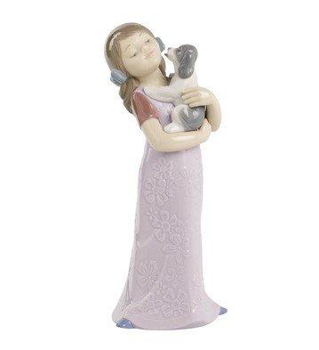 NAO 2001535.0 Puppy Cuddles Figurine by NAO