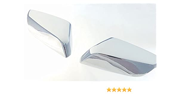For 2016 17 Chevy Malibu Top Half Mirror Chrome Covers For Turning light style