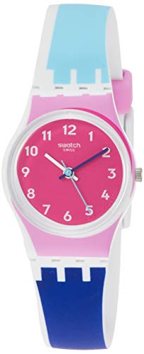 Swatch Attraverso Pink Dial Ladies Watch LW166
