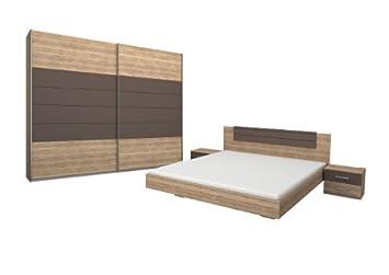 Rauch Schlafzimmer Komplett Set mit Bett 180x200 ...