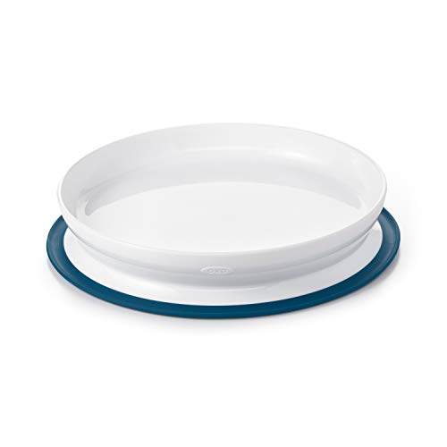 OXO Tot Stick & Stay Suction Plate, Navy