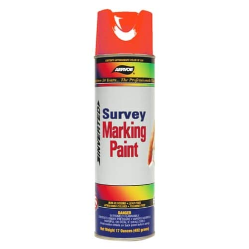 Paint Aervoe Marking (Aervoe 201 Red Marking Paint)