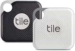 Tile Pro with Replaceable Battery - 2 pack (1 x Black, 1 x White) - NEW