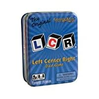 Juego de dados LCR® Left Center Right ™ - Lata azul