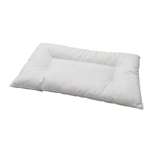 IKEA LEN Crib Pillow, White , 14 in x 22 in in, multi-colored