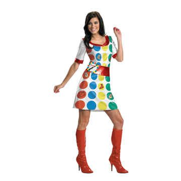 [Twister Girl Costume - Large] (Twister Game Costumes)