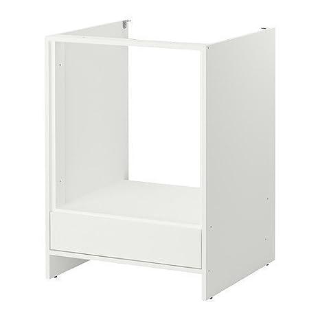 IKEA FYNDIG - Base per forno colore bianco - 63 x 60 x 86 cm: Amazon ...