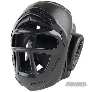 ProForce Headguard w/ Face Cage - Black - Medium