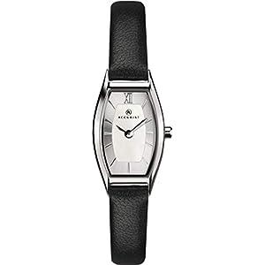 Accurist Womens Japanese Quartz Watch With Genuine Leather Strap, Tonneau Shape Case, 30m Water Resistant, 2 year…
