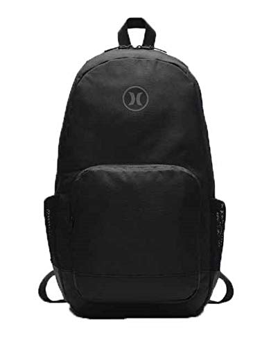 - Hurley Renegade Solid Backpack (Black, One Size)