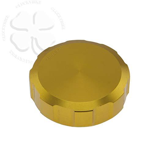 52mm CNC Reservoir Cap Gold For Suzuki GSXR 600 92-14 Lid Fluid Brake Clutch