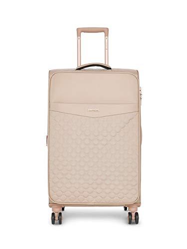 Caprese Alexandria 69 Cms Blush Softsided Check-in Luggage